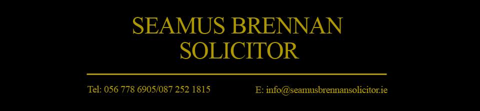 Seamus Brennan Solicitor